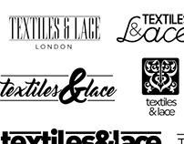 Textiles & Lace Logo Concepts