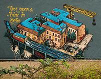 FLY MURALS | urban art
