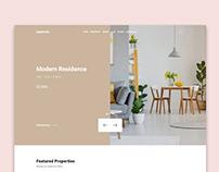 Estate Bit UI Design