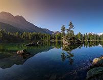Swiss Alp Lake Collection 2