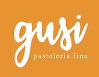 Gusi: Pastelería fina - Rebranding