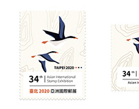 logo比稿設計_Logo&Graphic Design_臺北2020亞洲國際郵展