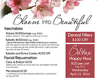 Mountcastle April Specials Advertising Package