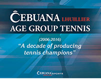 Cebuana Lhuillier Age Group Tennis 2016