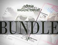 Multipurpose InDesign Magazine Template Bundle