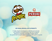 Pringles & Peroni | Key visual for combined brands