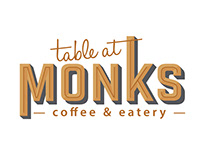 Table at monks - NZ