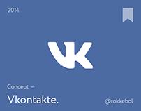 Vkontakte Redesign Concept