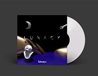"""LUNACY"" by Atlantyx – Branding & 3D Artworks"