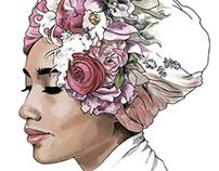 Yuna - Flower portrait