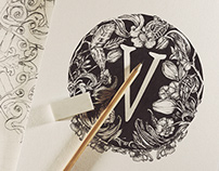 Hand Drawn Identity | V