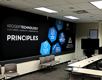 Kroger Technology Murals