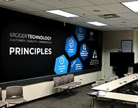 Kroger Technology Murals