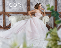 "Advertising shooting collection for ""ODRI"" salon 2016"