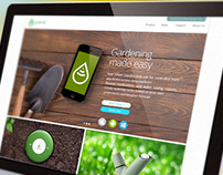 GreenIq website design