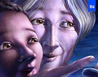 L'enfant et les étoiles (picture book)