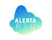 Alerta Rio - Logotipo e Aplicativo (UI Design)