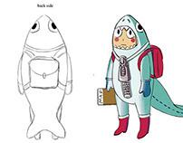 Aliens Underground character designs