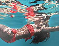 Ocean Paintings 2017
