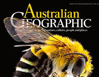 Australian Geographic covers 2017