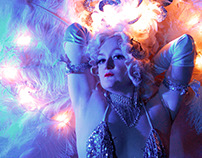 Portraits: Diva Hollywood Burlesque & Cabaret Performer