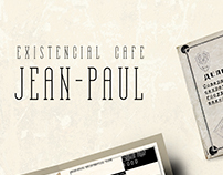 Jean-Paul Existencial Cafe | Menu Design