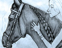 Horse & Woman
