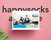 HappySocks Avenue Web Design