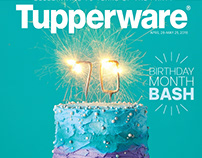 Birthday Month 2018 Brochure | Tupperware