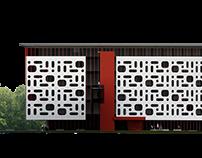 Town G.P. Center idea. Architects J.Siim and U.Põllumaa
