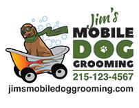 Jim's Mobile Dog Grooming Logo Redesign
