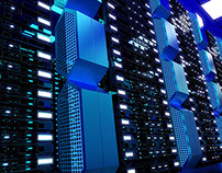 Data Server Stock Image Works (3D)
