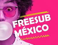 Social Media - FreeSub México