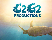 C2G2 Productions Brand Identity and Website