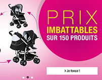 Auchan eCommerce - Banners