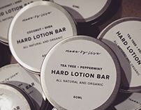 Made by Lise Lotion Bar Packaging