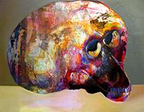 Smart Monkey Skull