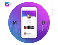 The WAVE. Music and Dating mobile app