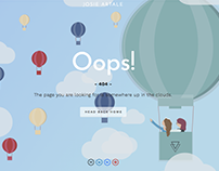 Delightful Moments: Landing page series