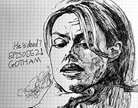 "Sketches of ""Gotham"""