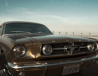 Ford Mustang CGI