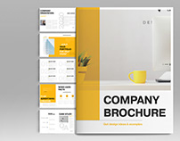 Yellow Business Layout