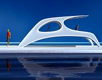 Catamaran Glider SS18 redesign, option 2.