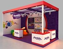Mondelez 6x3m Stall Design
