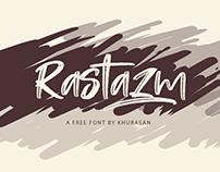 Free Rastazm Script Font