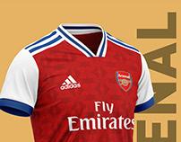 Arsenal football kit 19/20.