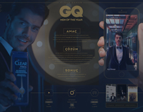 CLEAR // GQ MOTY CASE & VISUAL DESIGN