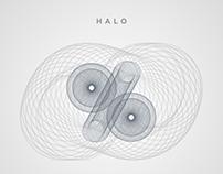 HALO | Experimental typography