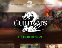 Guild Wars 2 - Massive UX UI redesign