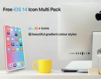 Free iOS 14 Icon Multi Pack